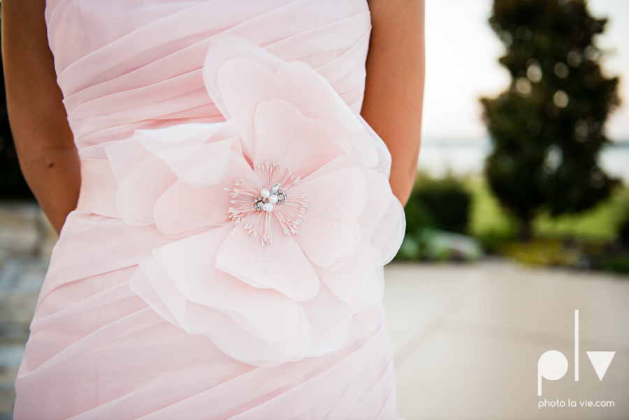 Wedding Summer Paradise Cove Texas DFW pink dress navy outside first look Sarah Whittaker Photo La Vie-41.JPG