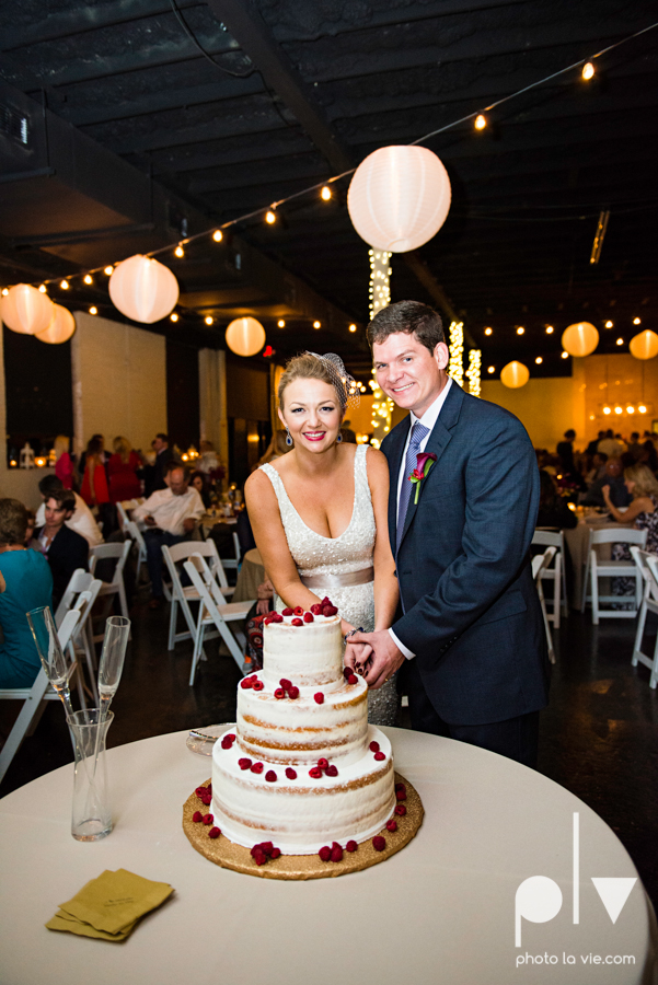 Ft Worth Wedding DFW photography 809 Vickery creme cake bridal sequin navy raspberry architecture gown modern industrial food truck Sarah Whittaker Photo La Vie-59.JPG