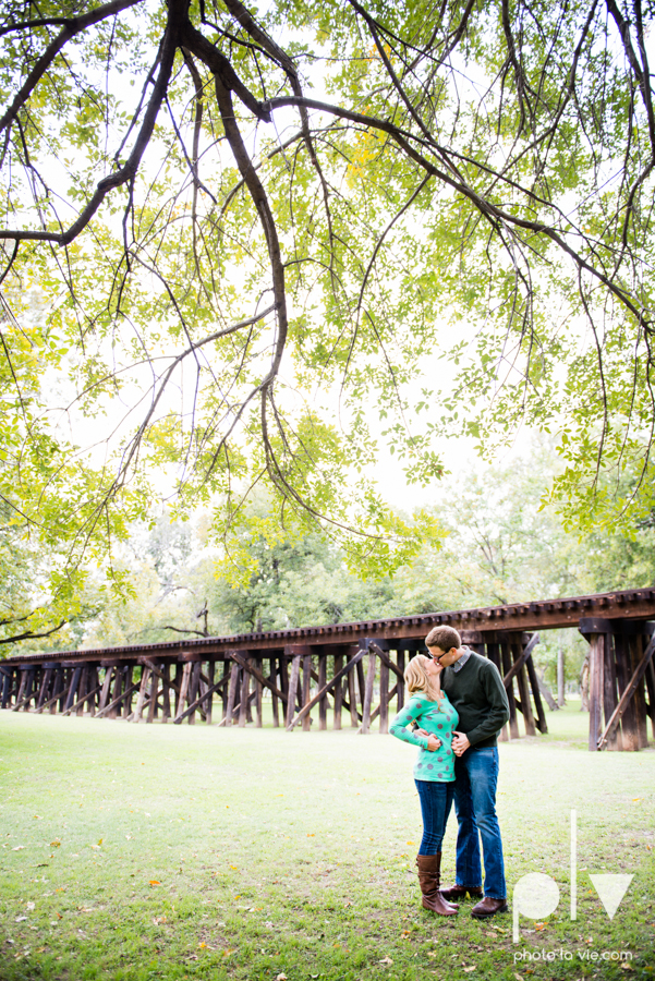 Engagement Fort Worth Texas portrait photography magnolia fall winter red couple Trinity park trees outside urban architecture Sarah Whittaker Photo La Vie-25.JPG