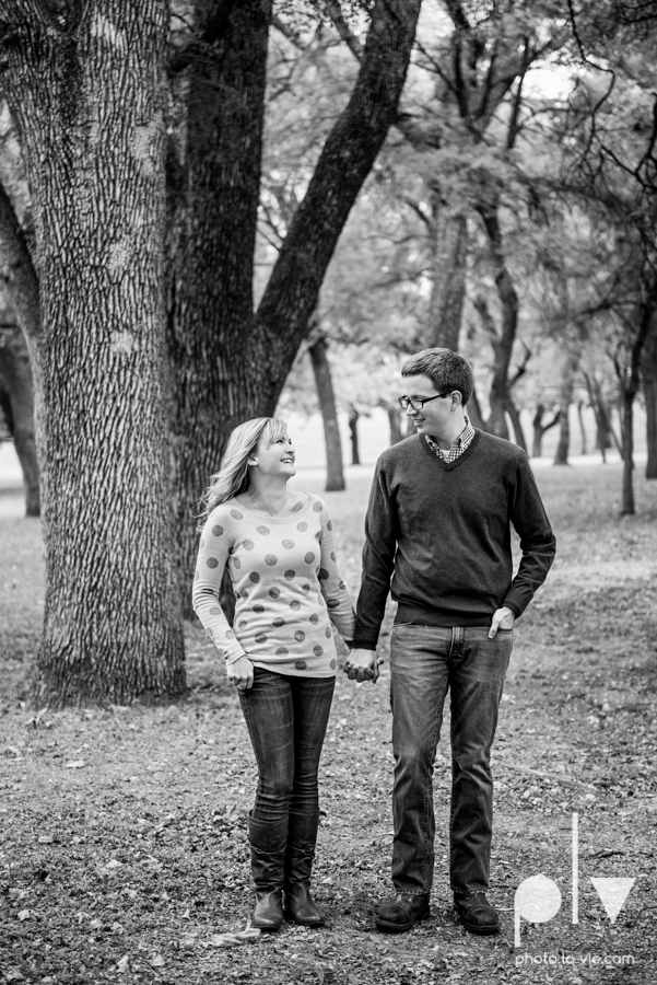 Engagement Fort Worth Texas portrait photography magnolia fall winter red couple Trinity park trees outside urban architecture Sarah Whittaker Photo La Vie-17.JPG