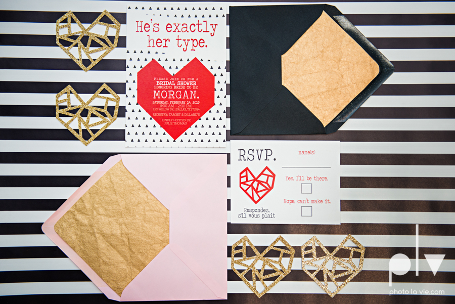 ValentinesDay Mini Session bridal shower theme styled gold black white pink red modern bold type text heart cake glitter statement stripes dot candle daisy singer bow Dainty Dahlias Sarah Whittaker Photo La Vie-13.JPG