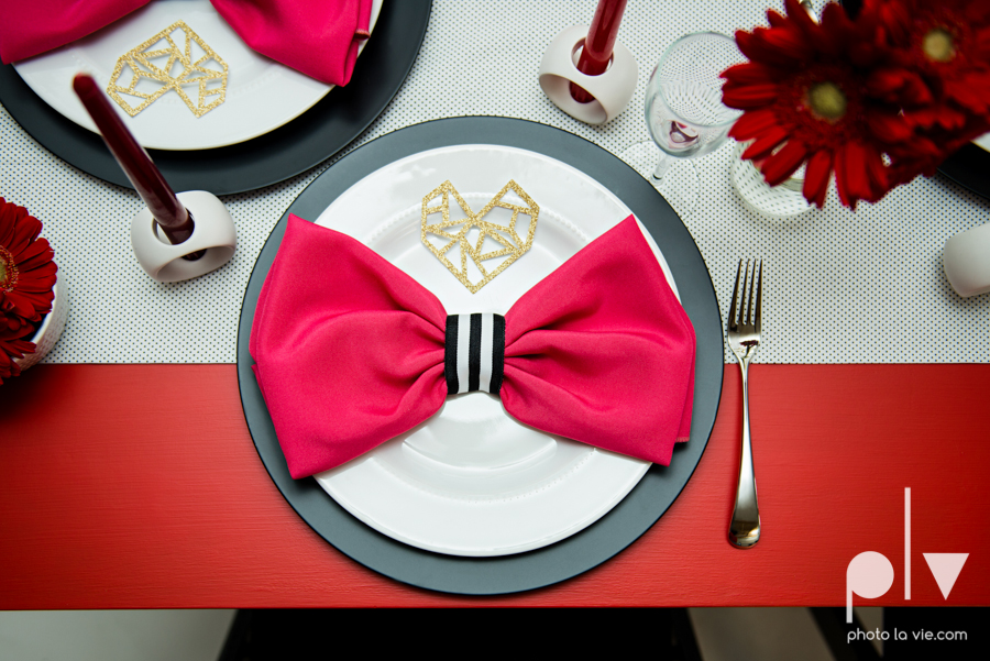 ValentinesDay Mini Session bridal shower theme styled gold black white pink red modern bold type text heart cake glitter statement stripes dot candle daisy singer bow Dainty Dahlias Sarah Whittaker Photo La Vie-20.JPG