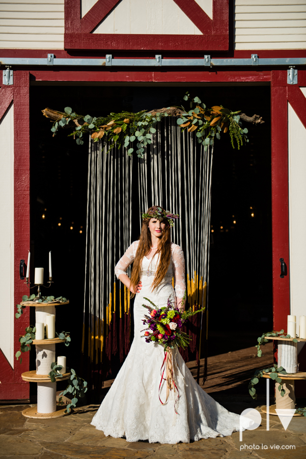Howell Family Farms Styled Wedding session winter boho rustic floral barn architecture bride dainty dahlias creme cake bliss Lane Love  lace masculine cigar cat banner yarn spool Sarah Whittaker Photo La Vie-62.JPG