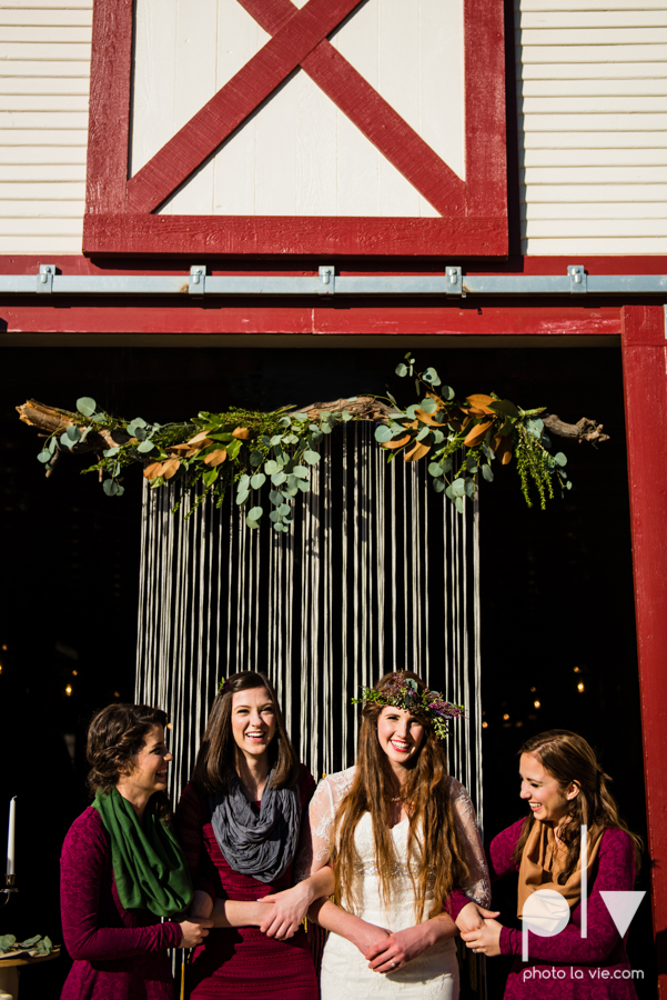 Howell Family Farms Styled Wedding session winter boho rustic floral barn architecture bride dainty dahlias creme cake bliss Lane Love  lace masculine cigar cat banner yarn spool Sarah Whittaker Photo La Vie-70.JPG