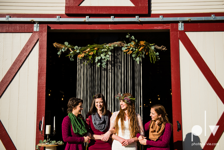 Howell Family Farms Styled Wedding session winter boho rustic floral barn architecture bride dainty dahlias creme cake bliss Lane Love  lace masculine cigar cat banner yarn spool Sarah Whittaker Photo La Vie-71.JPG