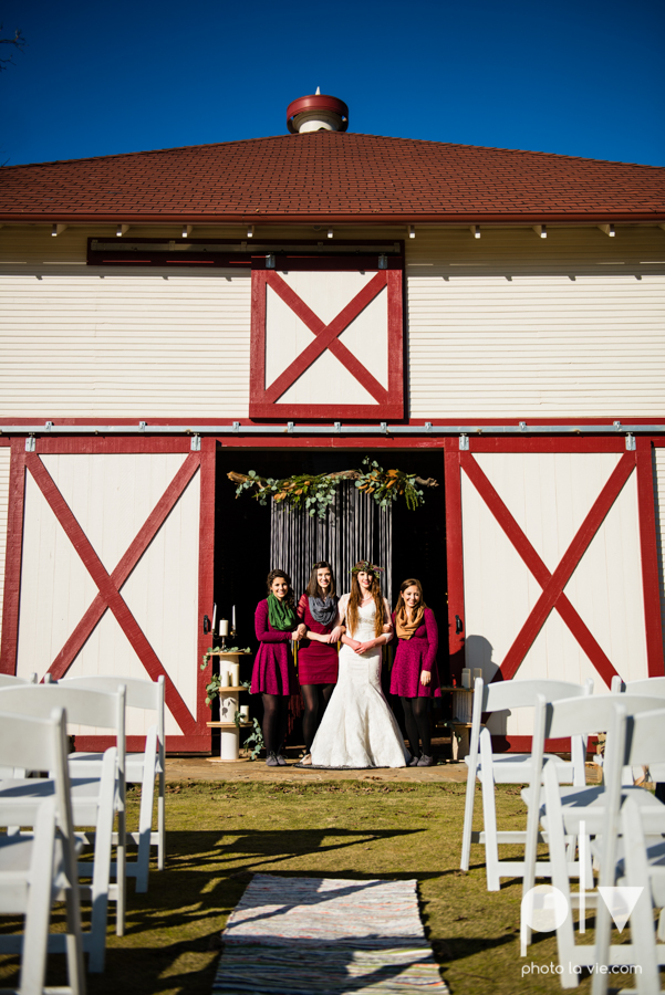 Howell Family Farms Styled Wedding session winter boho rustic floral barn architecture bride dainty dahlias creme cake bliss Lane Love  lace masculine cigar cat banner yarn spool Sarah Whittaker Photo La Vie-72.JPG