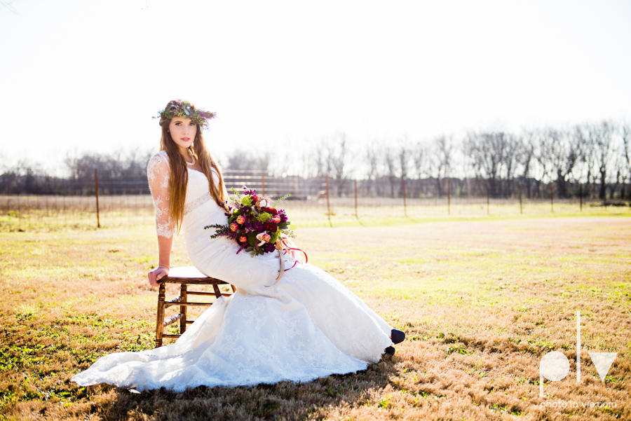 Howell Family Farms Styled Wedding session winter boho rustic floral barn architecture bride dainty dahlias creme cake bliss Lane Love  lace masculine cigar cat banner yarn spool Sarah Whittaker Photo La Vie-77.JPG