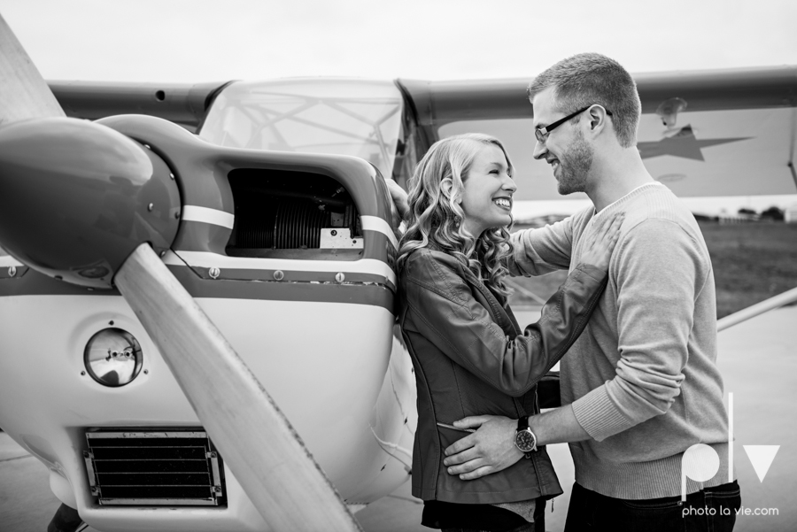 Allison JT engagement session Arlington Texas airport plane runway spring summer outdoors blue couple wedding DFW Dallas Fort Worth Sarah Whittaker Photo La Vie-1.JPG