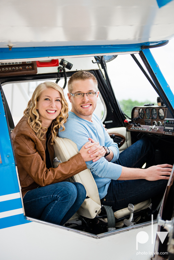Allison JT engagement session Arlington Texas airport plane runway spring summer outdoors blue couple wedding DFW Dallas Fort Worth Sarah Whittaker Photo La Vie-3.JPG