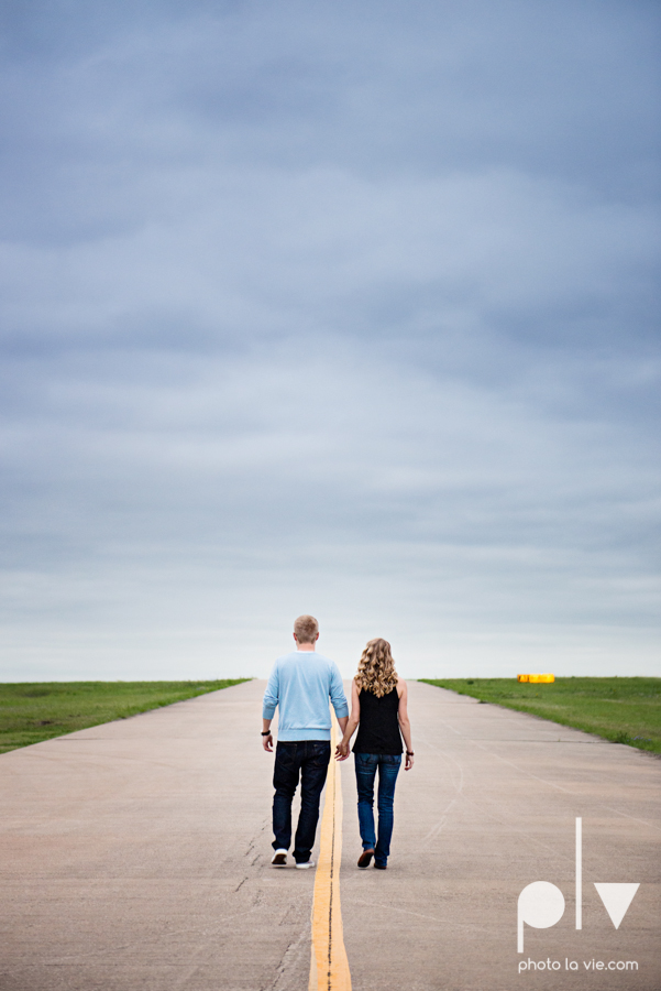 Allison JT engagement session Arlington Texas airport plane runway spring summer outdoors blue couple wedding DFW Dallas Fort Worth Sarah Whittaker Photo La Vie-10.JPG