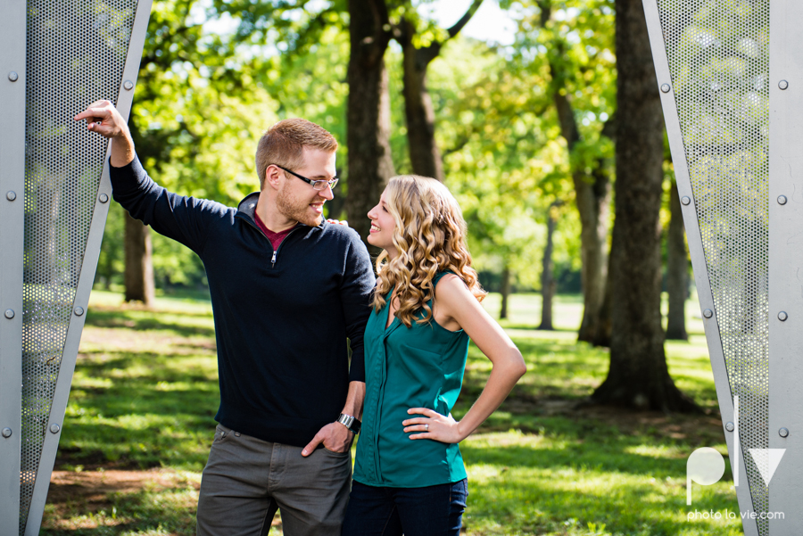 Allison JT wedding engagement session Dallas Texas Tx opportunity park pavilion architecture spring summer outside outdoors trees green modern Sarah Whittaker Photo La Vie-8.JPG