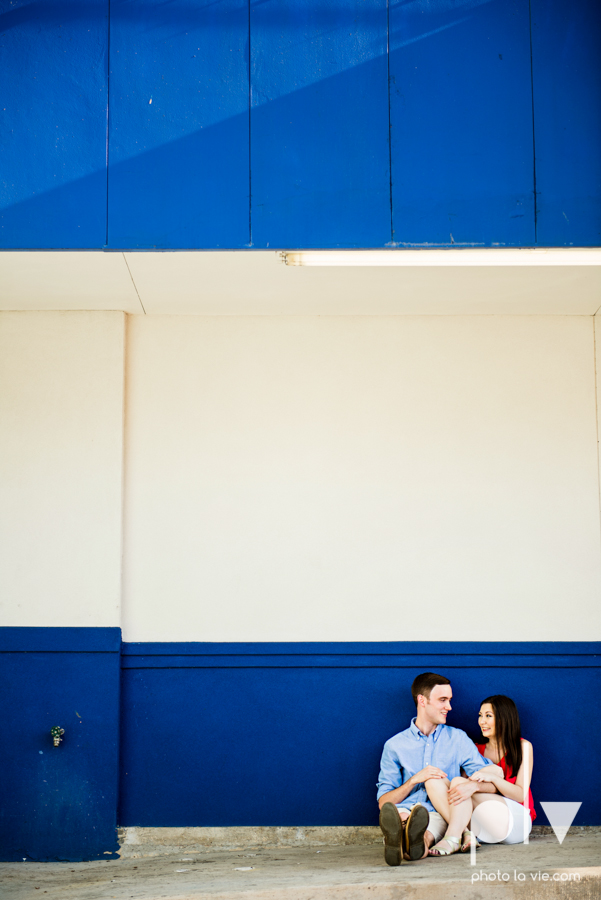 Jordyn Kaleb Hibdon Schram Wedding engagement session photographer Dallas Texas DFW Bishop Arts District White Rock Lake couple dock urban wall Sarah Whittaker Photo La Vie-5.JPG