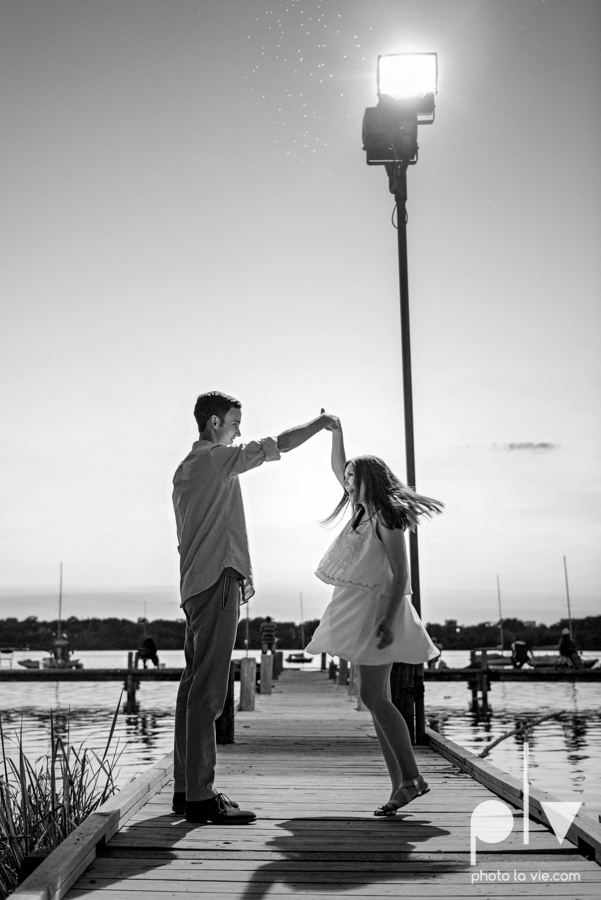 Jordyn Kaleb Hibdon Schram Wedding engagement session photographer Dallas Texas DFW Bishop Arts District White Rock Lake couple dock urban wall Sarah Whittaker Photo La Vie-15.JPG