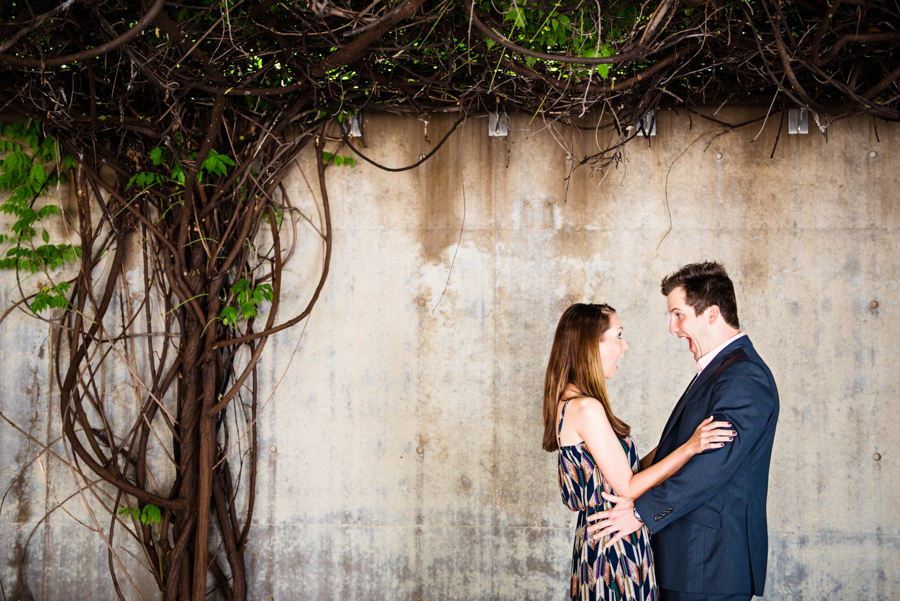 Photo La Vie Sarah Whittaker wedding photographer engagement photography DFW Dallas Fort Worth downtown sundance square fort worth modern art museum couple summer-1.JPG