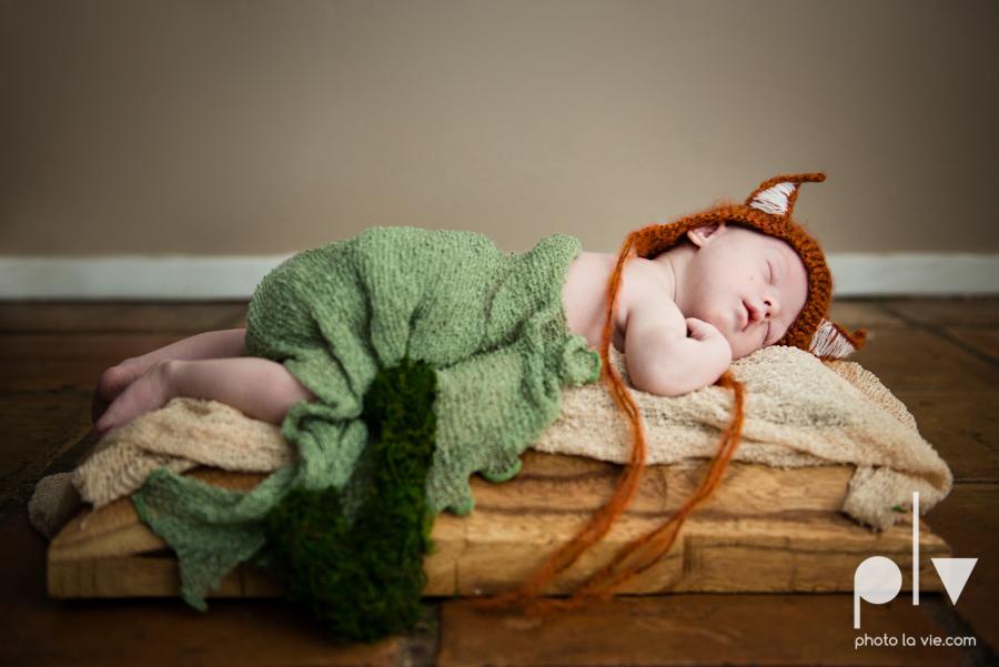 Newborn James downs syndrome baby boy sweet fox black and white classic-4.JPG