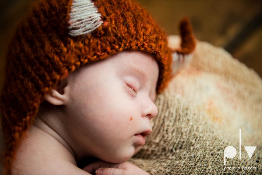 Newborn James downs syndrome baby boy sweet fox black and white classic-5.JPG