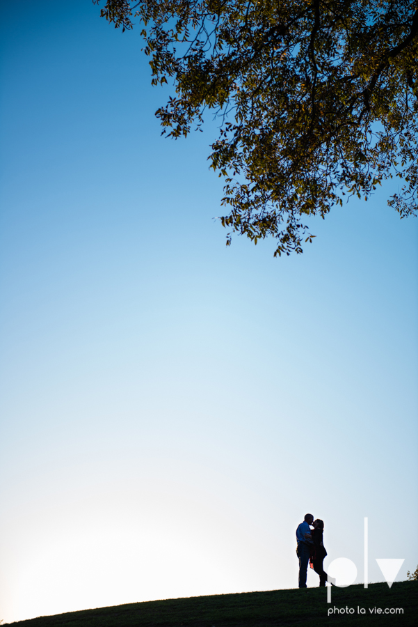 Couple Trinity Park Holiday Christmas outdoors married sunset backlit Sarah Whittaker Photo La Vie-6.JPG
