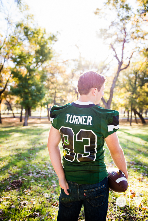 Andrew high school football player senior photos pictures downtown Fort Worth Trinity Park fall winter session sweater boy guy model Sarah Whittaker Photo La Vie-5.JPG