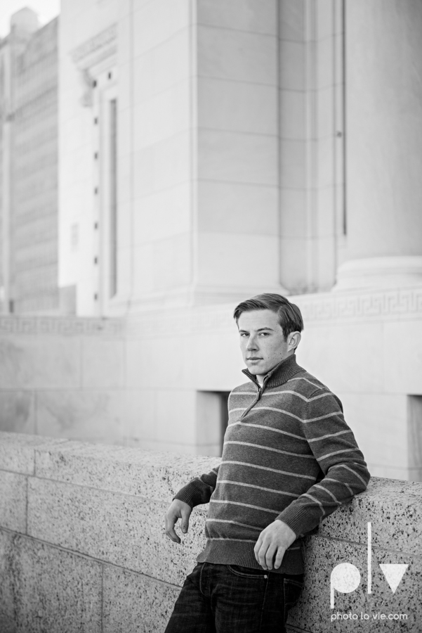 Andrew high school football player senior photos pictures downtown Fort Worth Trinity Park fall winter session sweater boy guy model Sarah Whittaker Photo La Vie-12.JPG