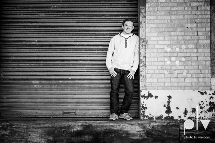 Andrew high school football player senior photos pictures downtown Fort Worth Trinity Park fall winter session sweater boy guy model Sarah Whittaker Photo La Vie-8.JPG