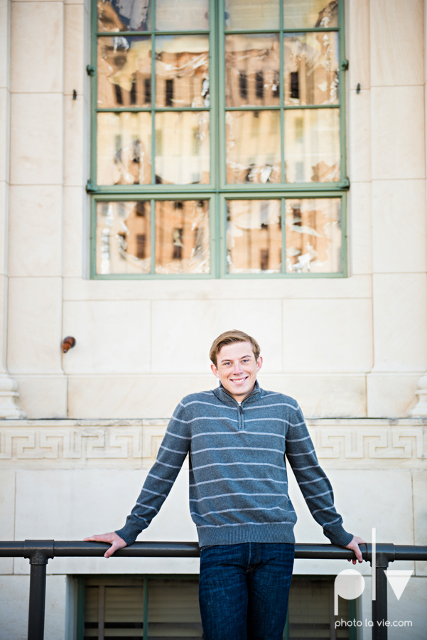 Andrew high school football player senior photos pictures downtown Fort Worth Trinity Park fall winter session sweater boy guy model Sarah Whittaker Photo La Vie-16.JPG