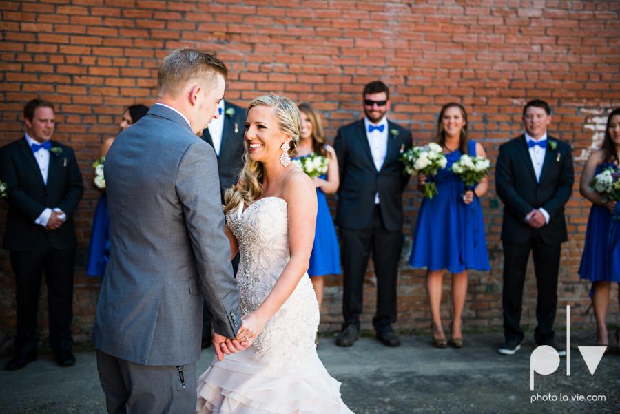 alyssa adam schroeder wedding mckinny cotton mill dfw texas outdoors summer wedding married pink dress vines walls blue lights Sarah Whittaker Photo La Vie-14.JPG