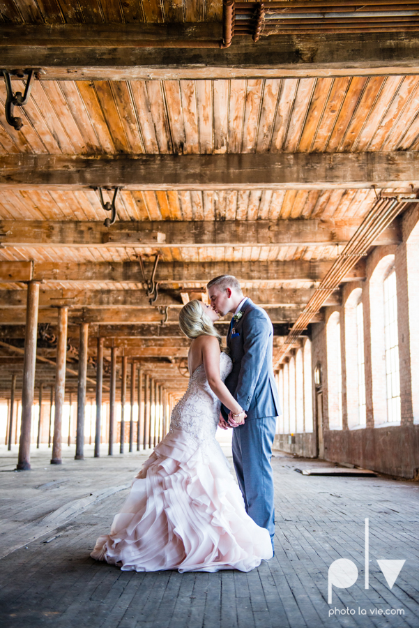 alyssa adam schroeder wedding mckinny cotton mill dfw texas outdoors summer wedding married pink dress vines walls blue lights Sarah Whittaker Photo La Vie-21.JPG