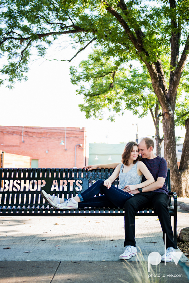 Tori Robert engagement session esession DFW Dallas Bishop Arts District Park Field tx couple guitar ring mural urban walls trees outdoors summer spring emporium pies music poplove Sarah Whittaker Photo La Vie-12.JPG