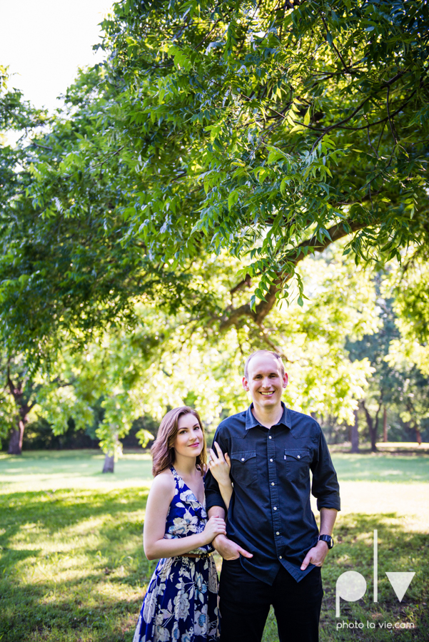 Tori Robert engagement session esession DFW Dallas Bishop Arts District Park Field tx couple guitar ring mural urban walls trees outdoors summer spring emporium pies music poplove Sarah Whittaker Photo La Vie-18.JPG
