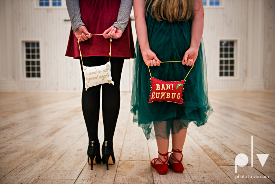 King sisters girls teens quinlan texas white sparrow barn outdoors holiday christmas session Sarah Whittaker Photo La Vie-13.JPG