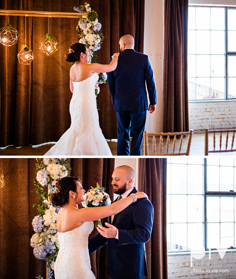 potts wedding hickory street annex dallas texas tx bride groom couple floral blues fabulous lighting donuts cake Tara Todd Sarah Whittaker Photo La Vie-57.JPG
