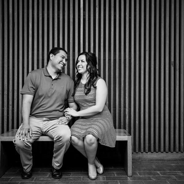 These two tied the knot last week and I'm so excited for their wedding collection to be ready to share! #anydaynow #weddingphotography
