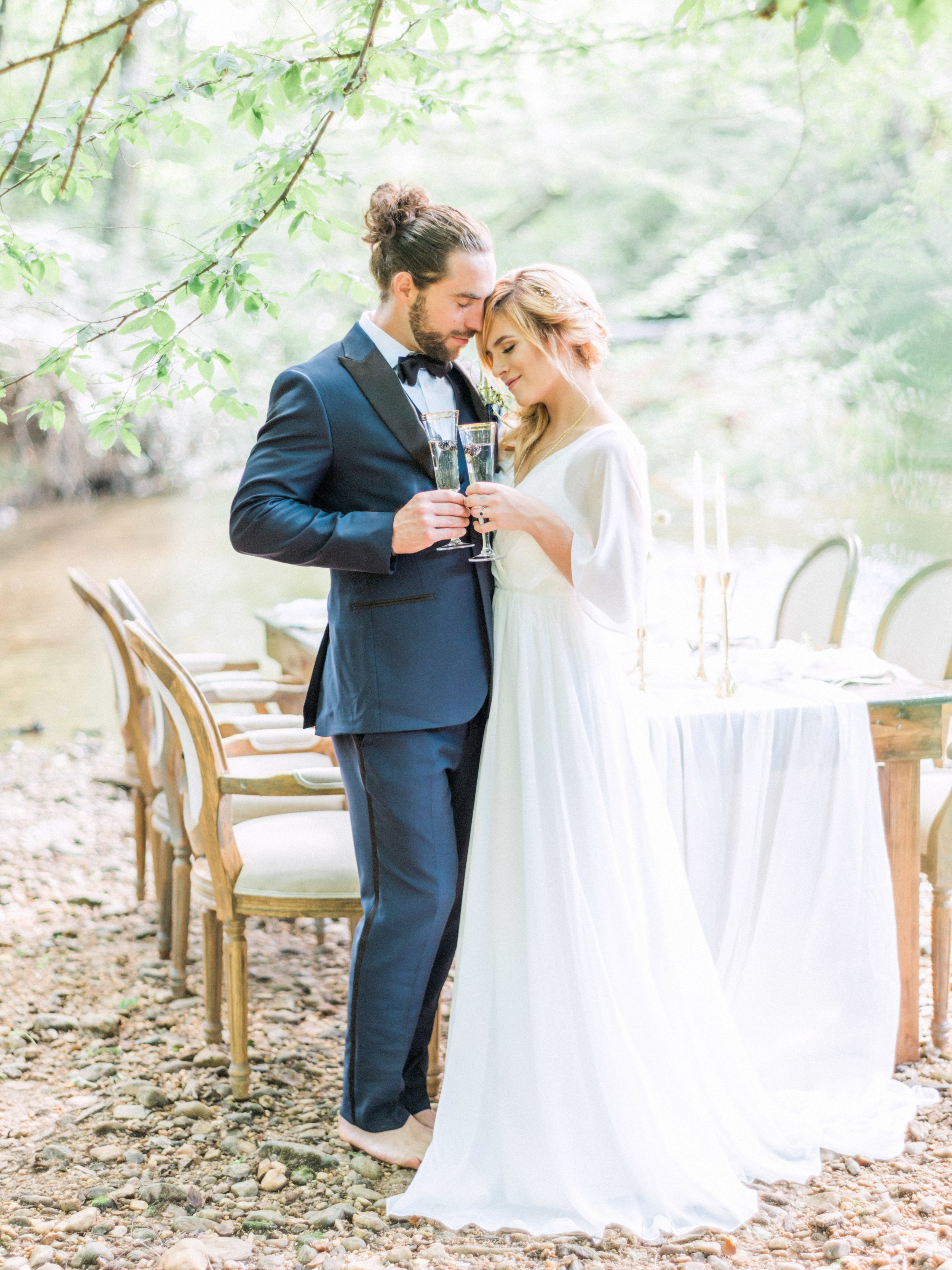 Destination wedding in Asheville, NC