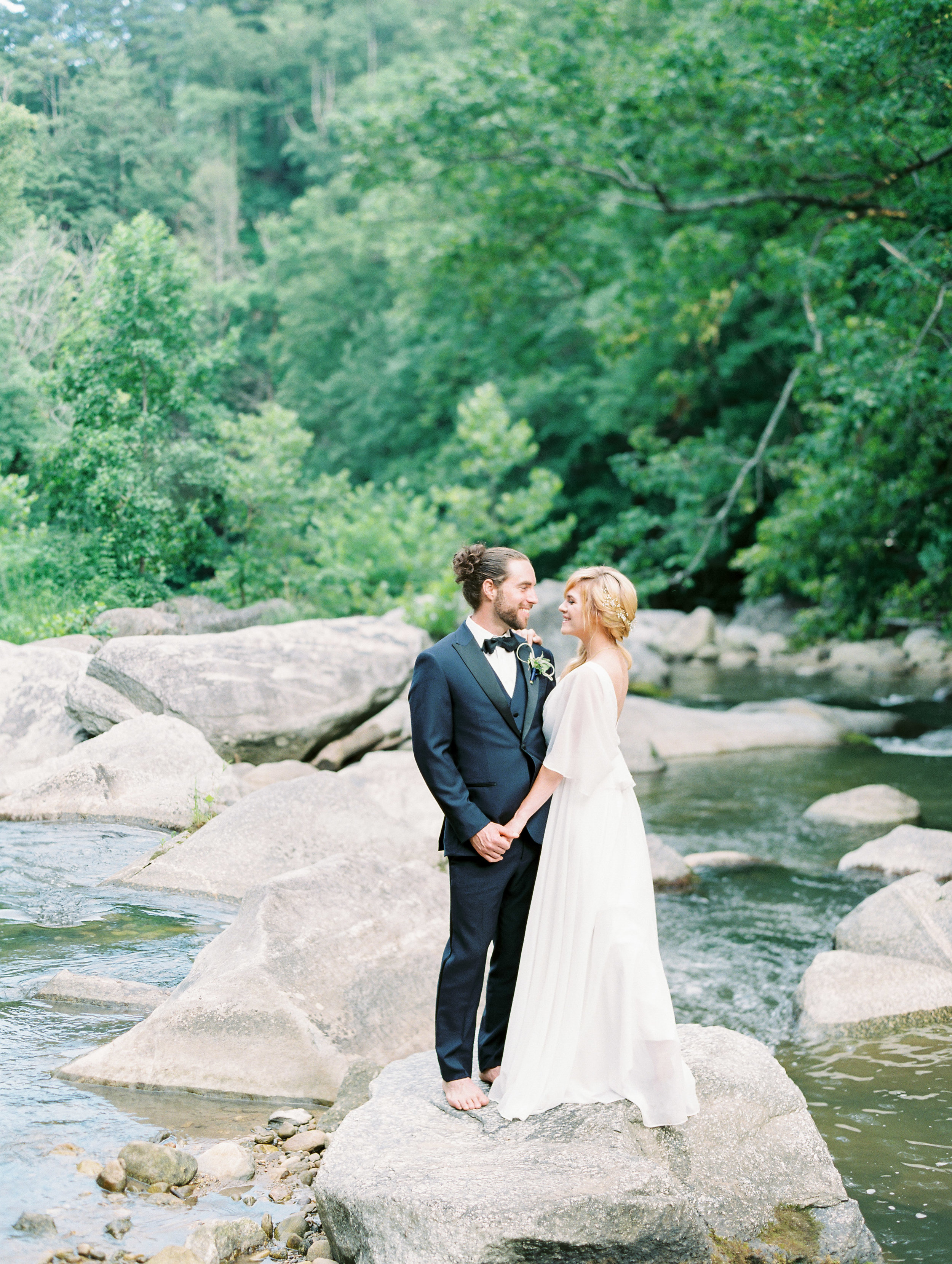Destination wedding in North Carolina