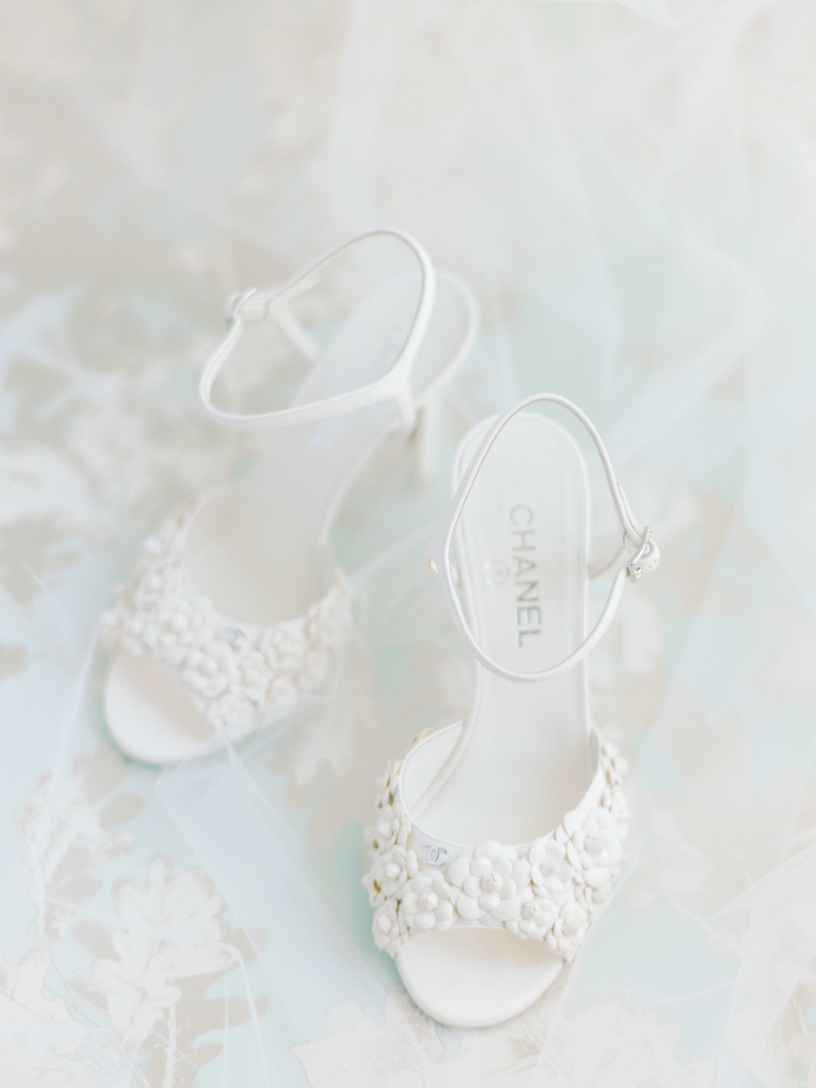 chanel wedding shoes