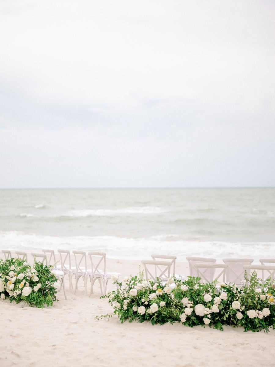 naples beach ceremony