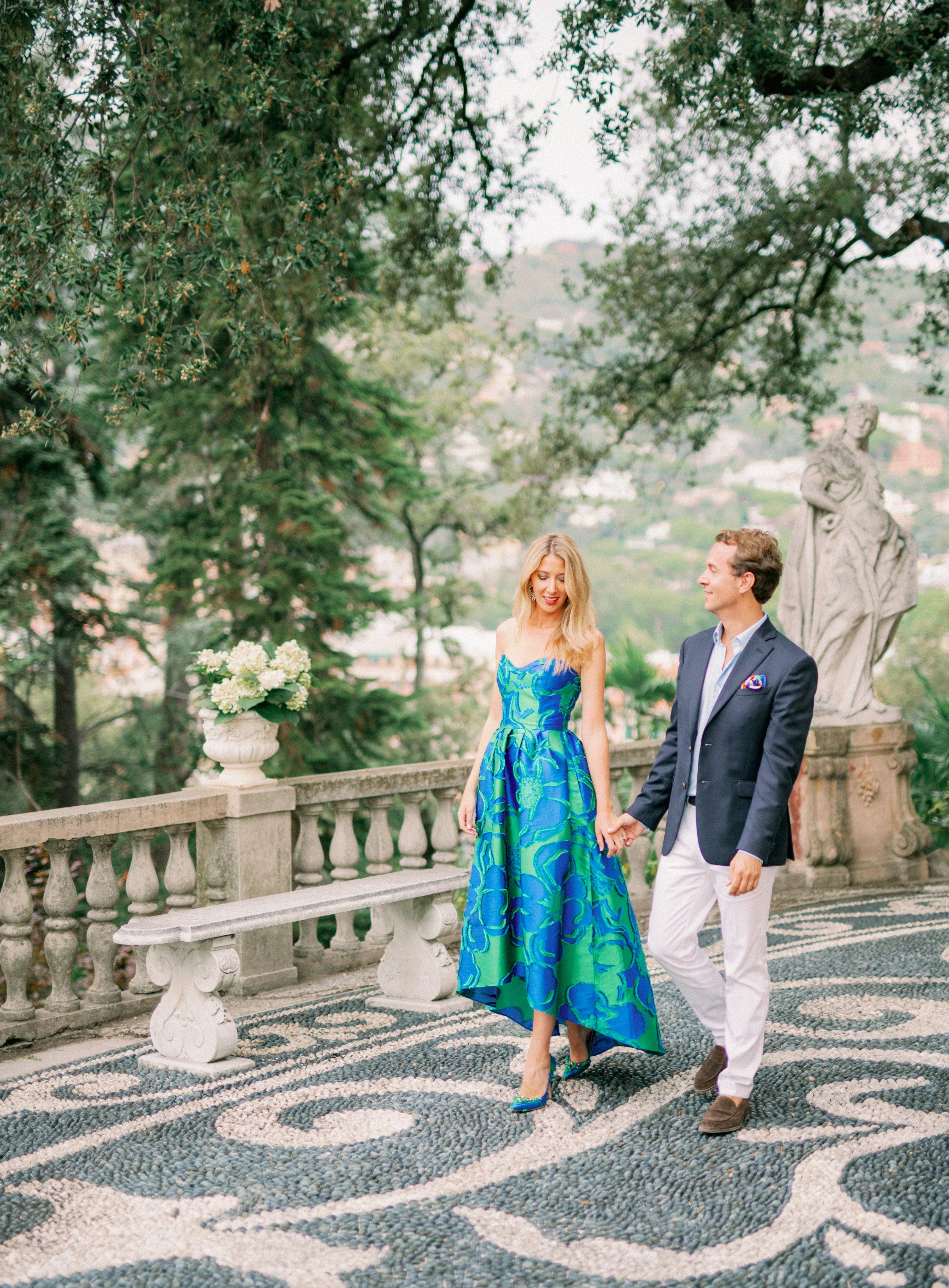 portofino italy destination wedding engagement photographer
