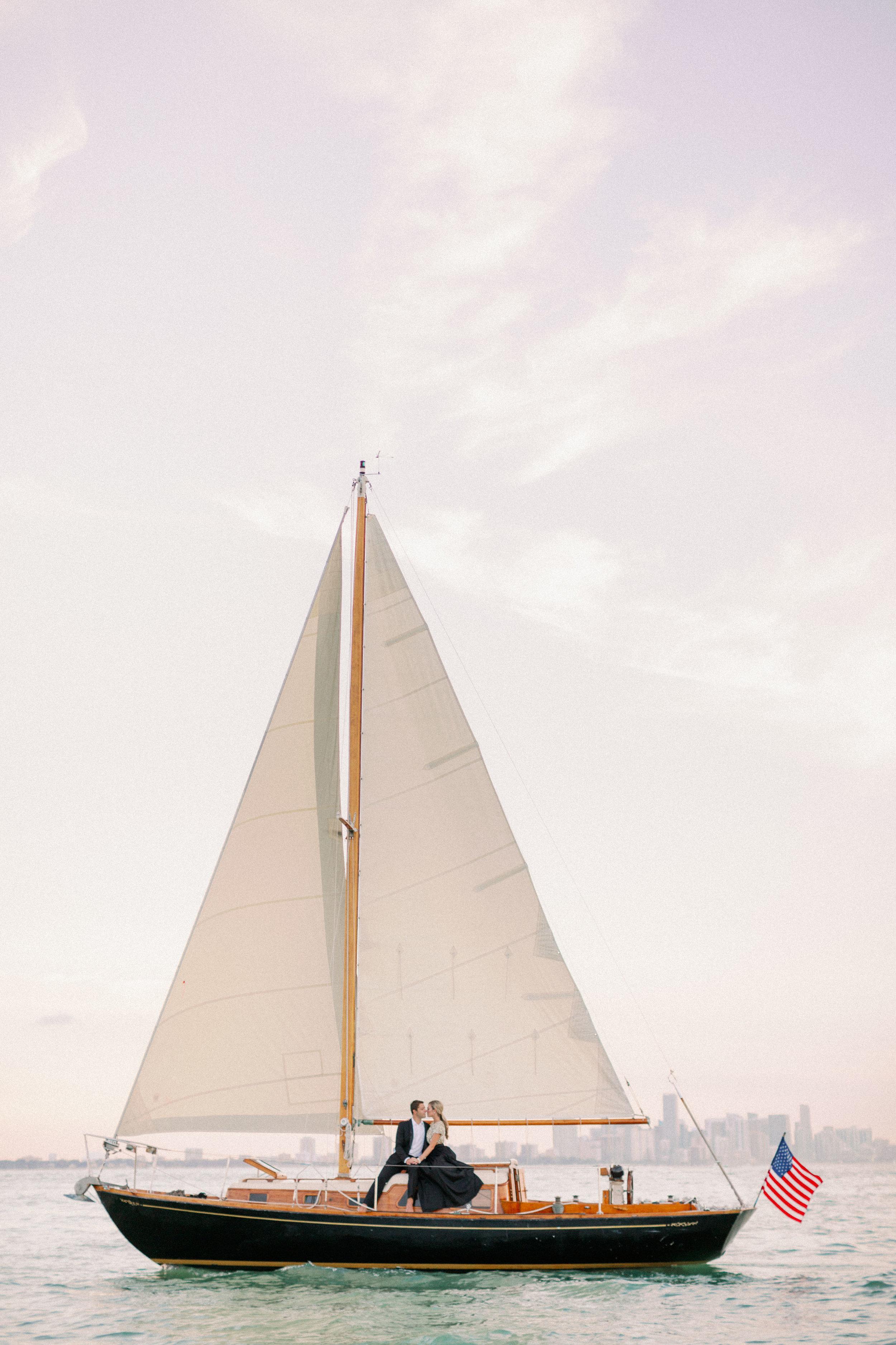 sailboat engagement inspiration hunter ryan photo