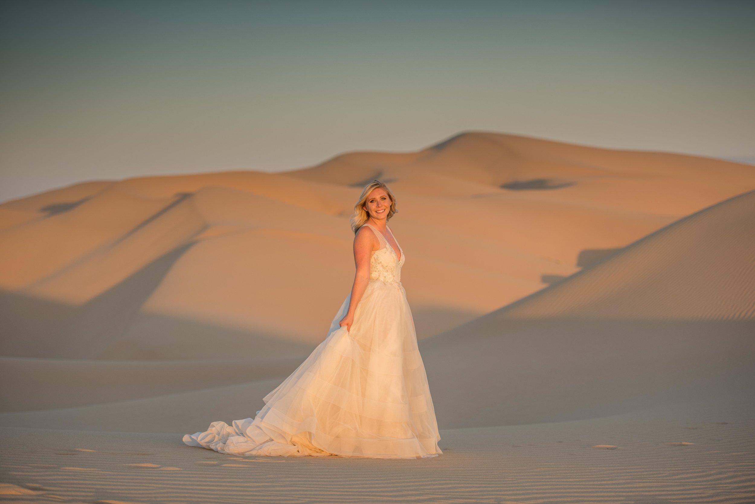 North Algodone Dunes Elopement Photographer