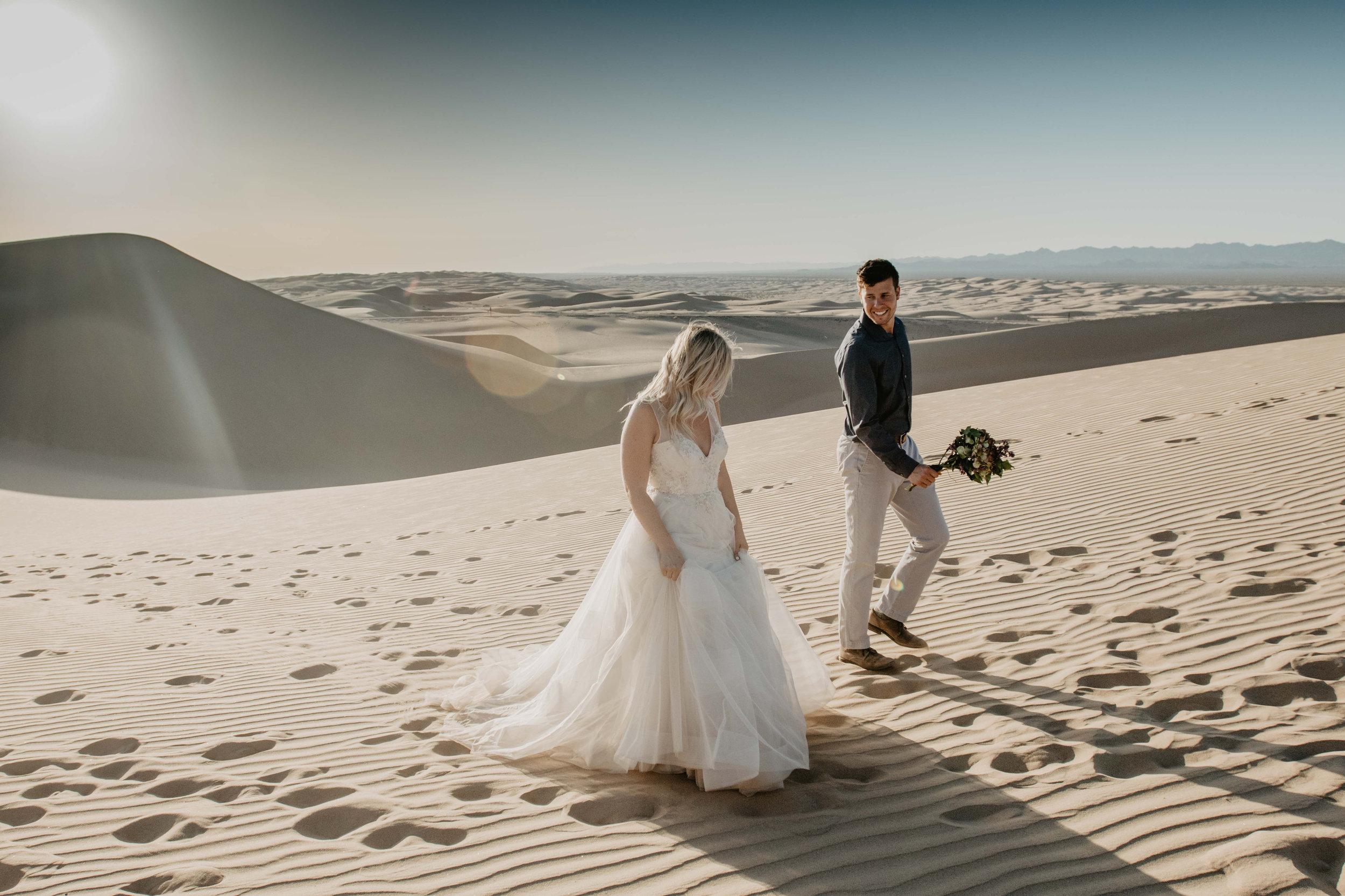 Destination Elopement Photographer - adventure wedding photographer