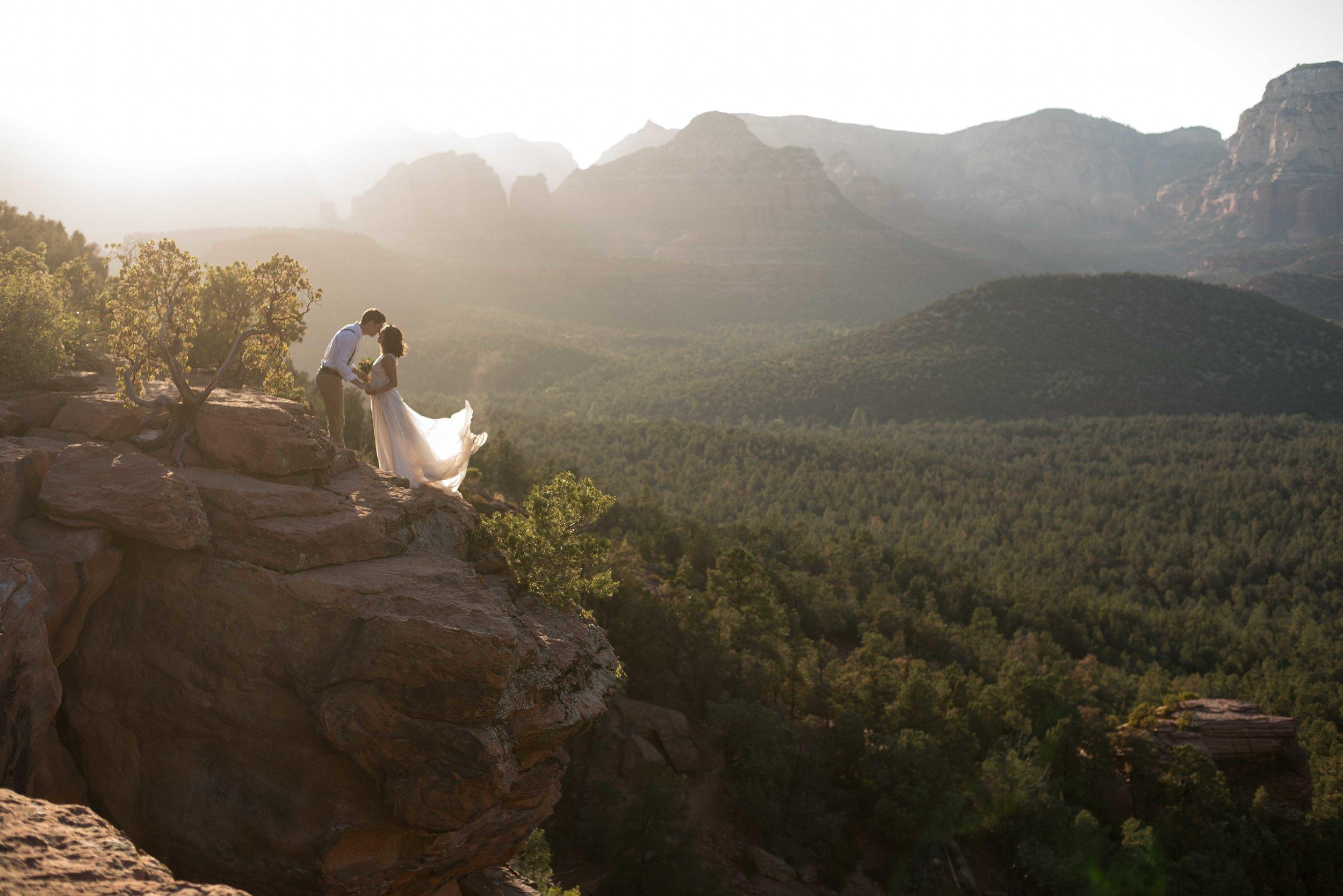 Sedona Elopement Photographer - Adventure Elopement Photographer