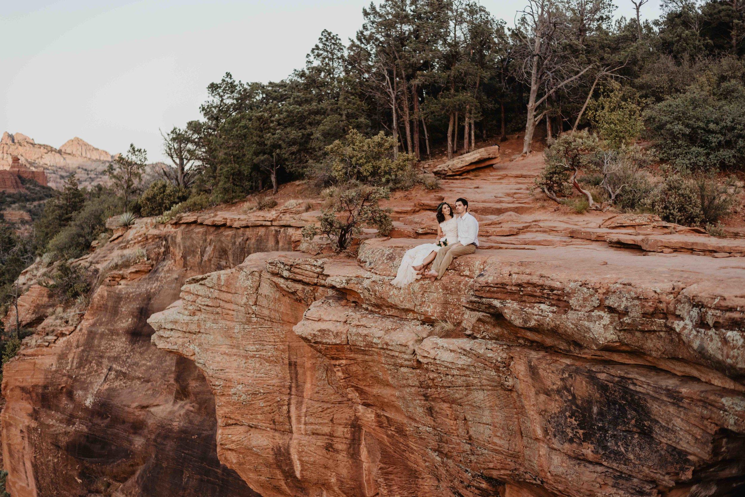 Destination Adventure Wedding Photographer - Sedona, Arizona