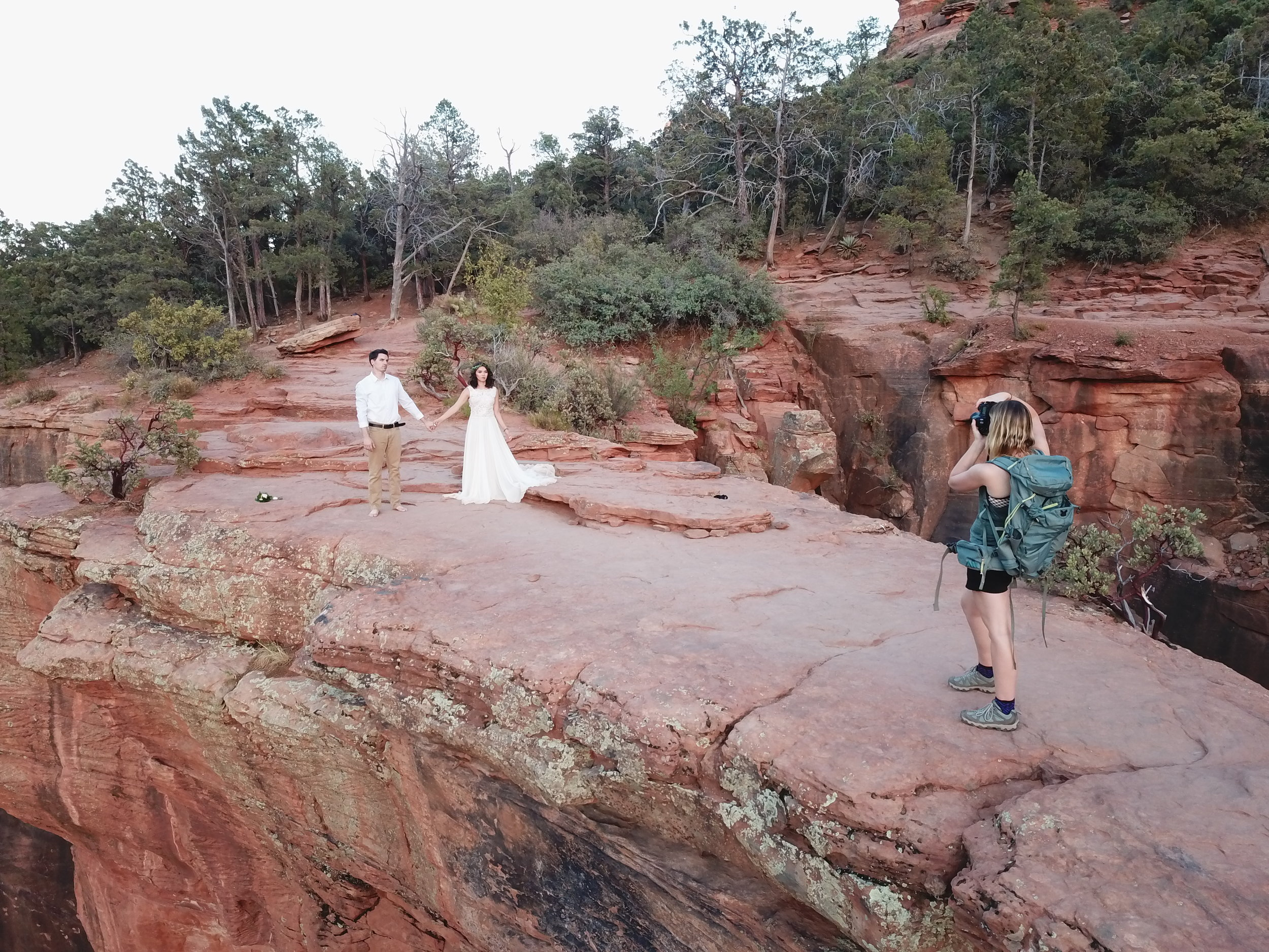 Sedona Elopement Photographer & Wedding Dress Rental