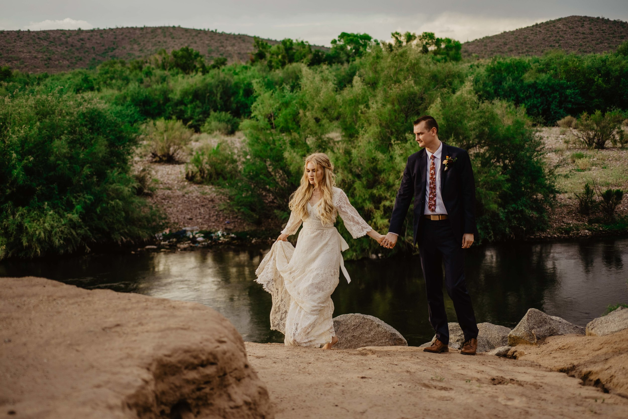 Arizona Elopement Photographer - Adventure Elopement