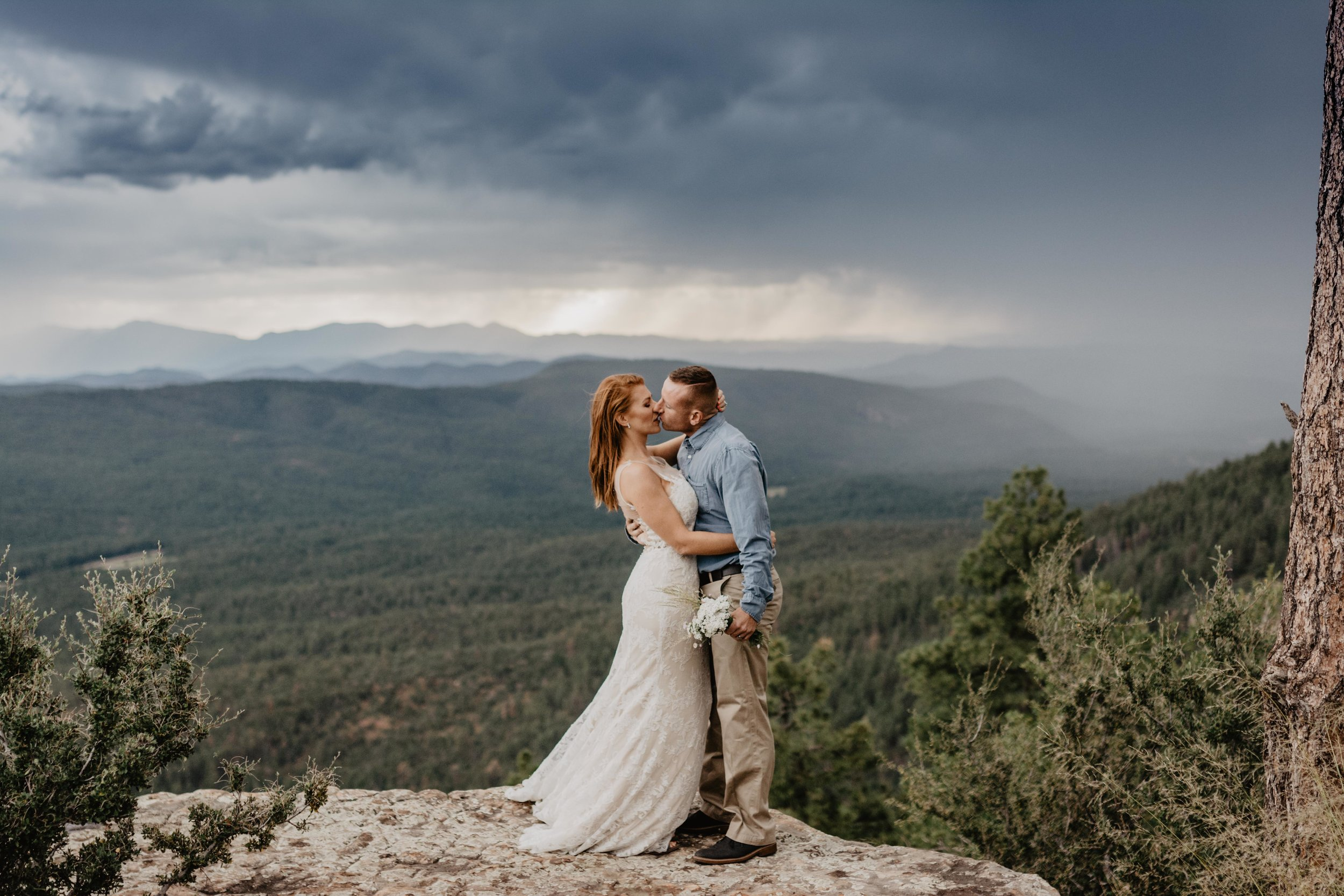 Mogollon Rim Elopement Photographer