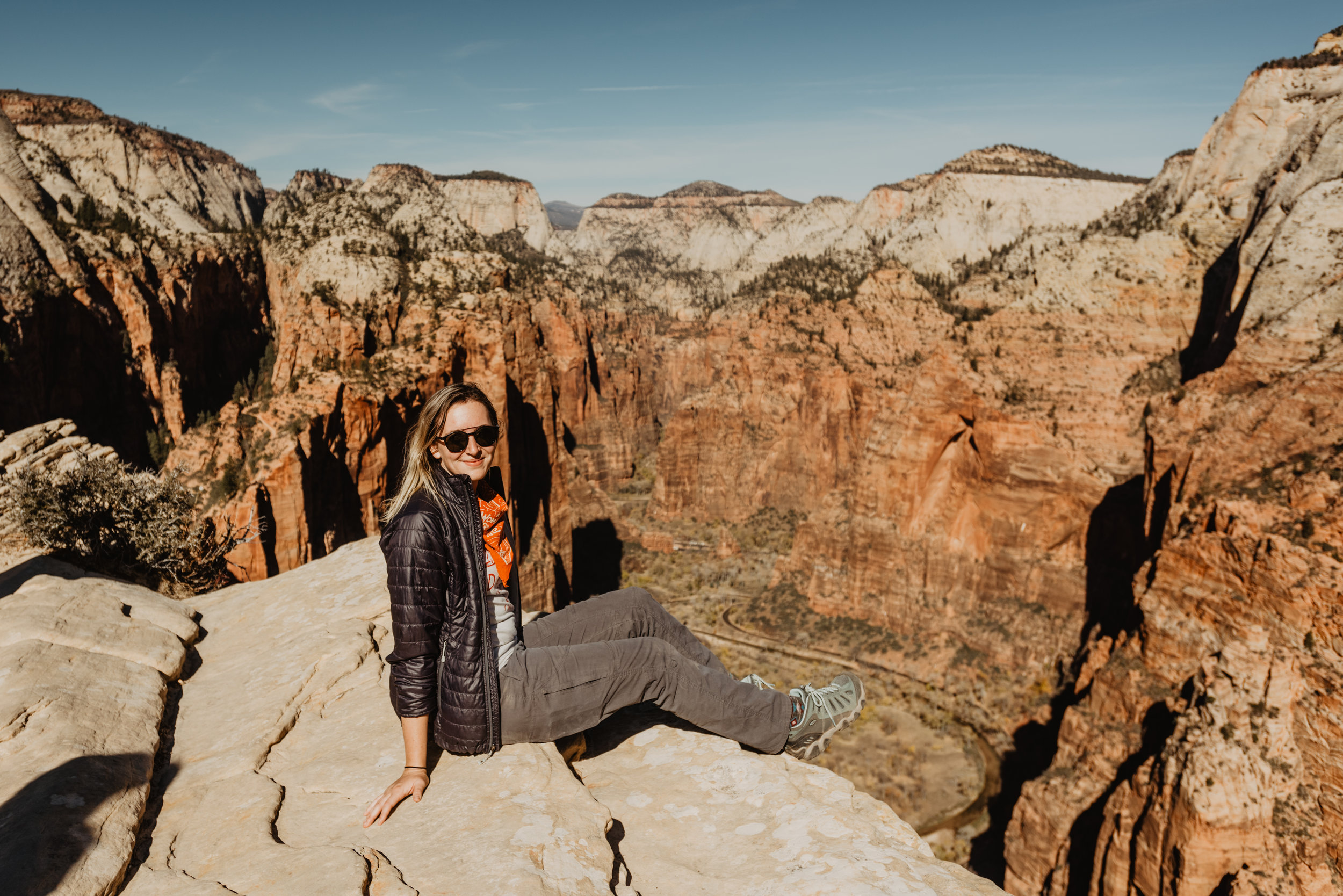 Hey it's me here! - I am here to tell you that Winter is still a perfect time of year for your elopement, just check out all of these desert locations!! I recently ventured off to Zion and Bryce Canyon National Parks to hike Angel's Landing and check out other trails for elopements. I was so excited to see this little spot in Bryce that is perfect for a ceremony if you plan to bring a couple of very important people along to witness the vows. Bryce and Zion are still great elopement locations for a winter elopement, the nights are quiet cold, but the day can be warm. Depending on the day you can catch snow in Bryce, which means cold, yes, but BEAUTIFUL! Tis' the season right??Heading more South into Arizona, you have Sedona, Grand Canyon, Tuscon and Petrified Forest National Park as great locations during the winter. If you do want snow but not those negative numbers you may get in other states or countries this time of year then Flagstaff and Payson are perfect options. Heading to Southern California I also recommend Joshua Tree for the winter. Once again it can get cold during the night, but after a perfect day who doesn't want to cuddle up in a cozy Airbnb?