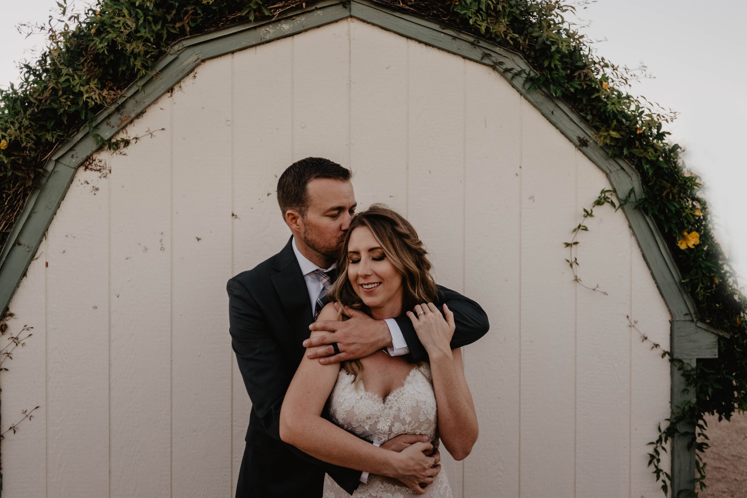 Intimate Backyard Wedding Peoria Arizona