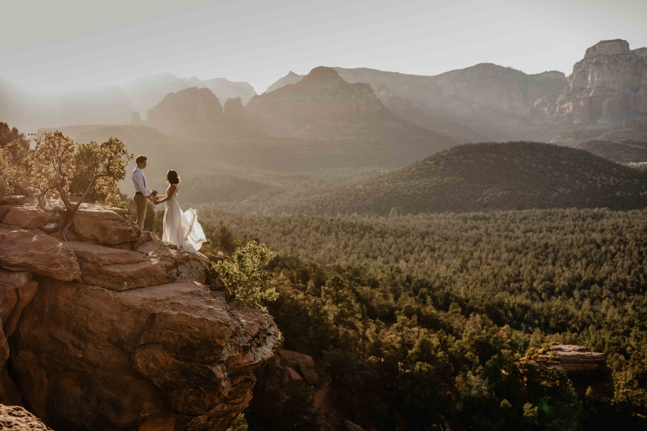 Sedona Elopement Packages - adventure elopement photographer sedona arizona