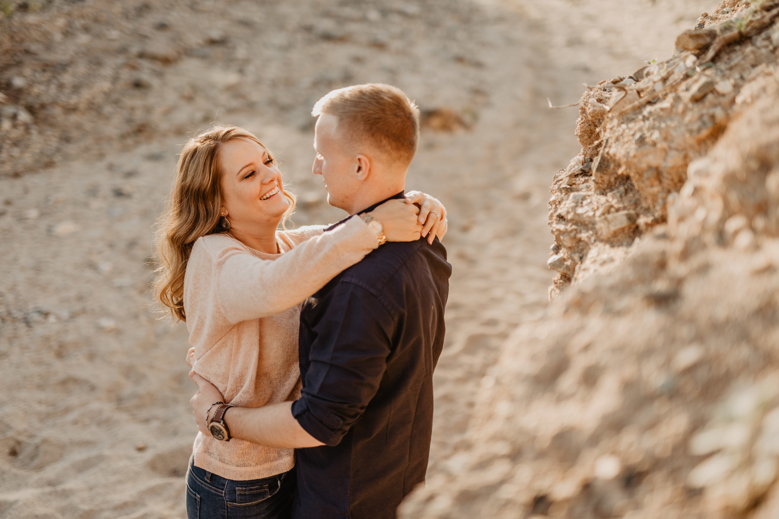 scorpion gulch engagement session - phoenix engagement photographer
