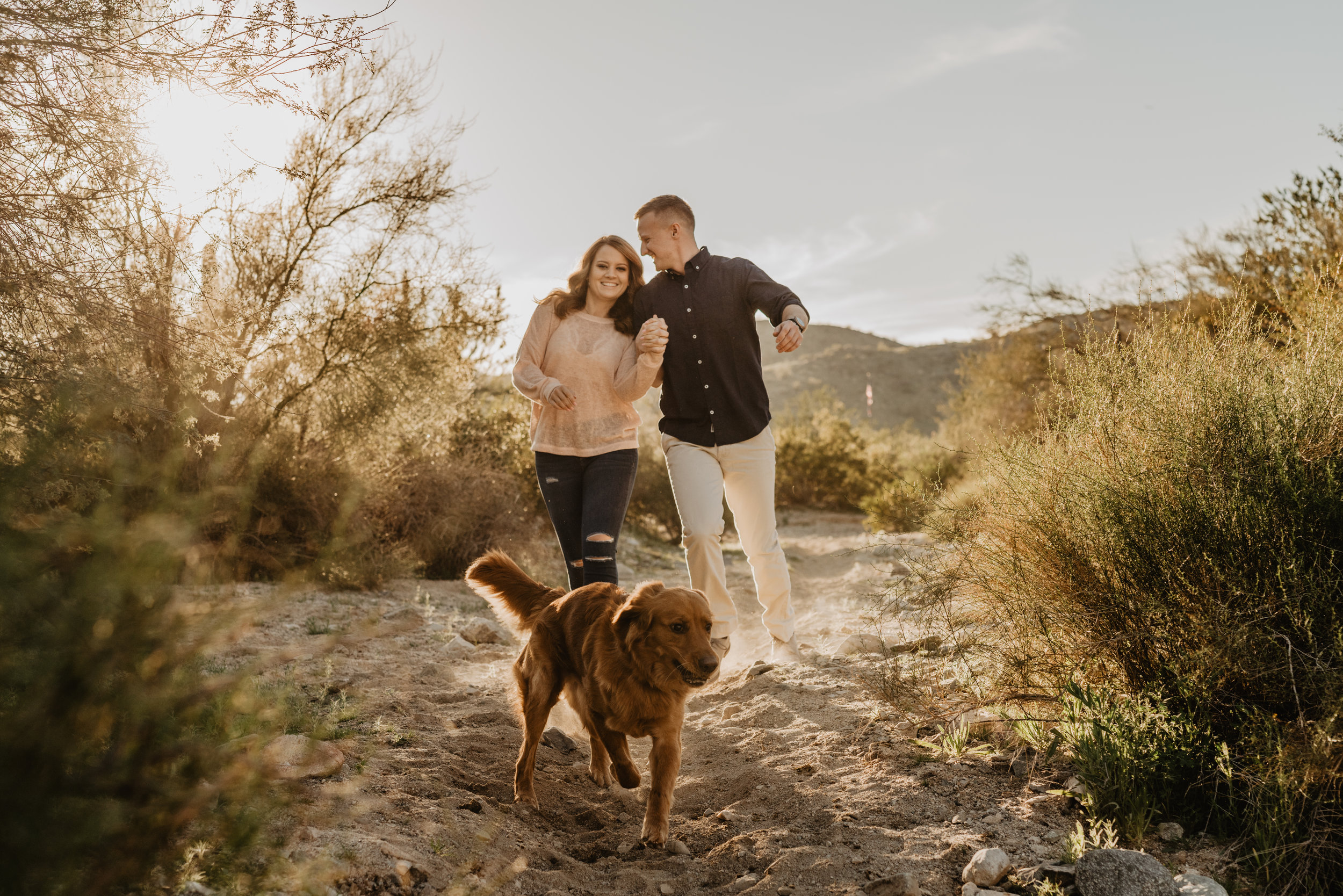 phoenix wedding photographer - arizona elopement photographer - adventure engagement session - engagement session with dog - destination wedding photographer - adventure elopement photographer - southern California elopement photographer - PNW elopement photographer - colorado elopement photographer